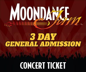 Moondance Jam: 3 Day General Admission Ticket